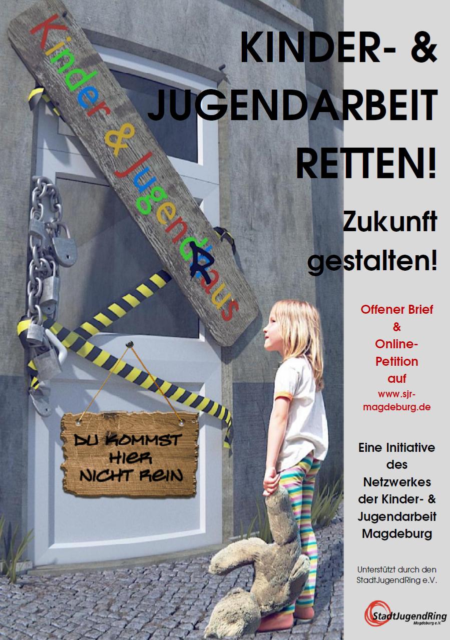 Zukunft gestalten – Kinder und Jugendarbeit retten!