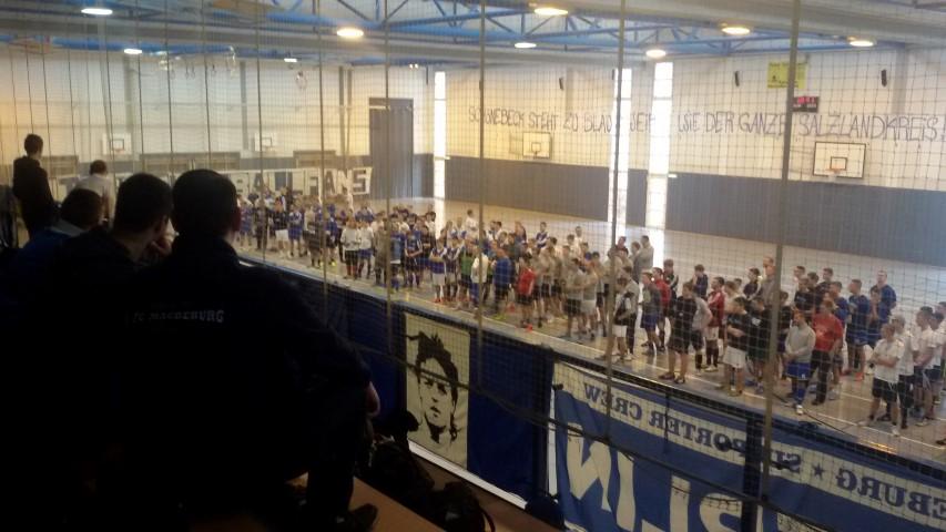 8. Block U Hallenmeisterschaft