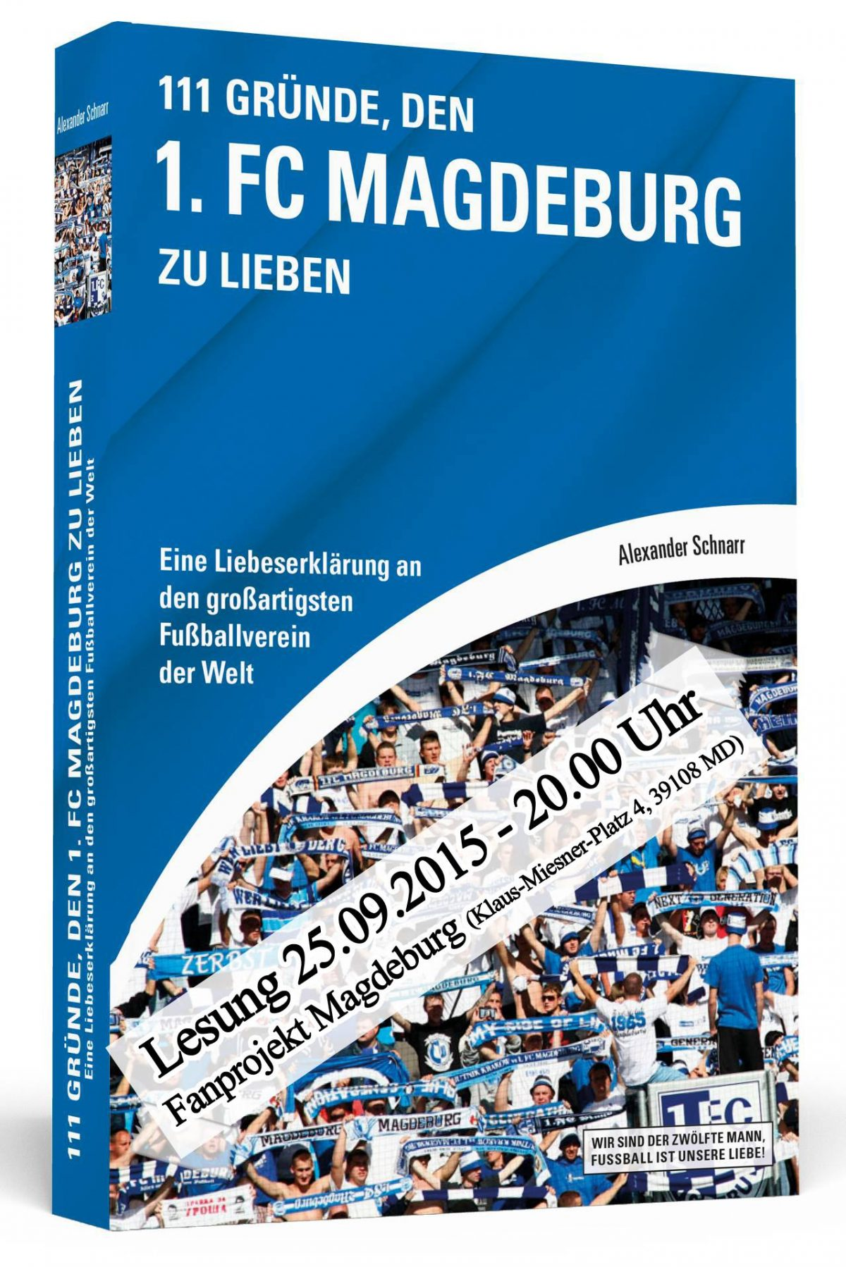 Buchlesung mit Alexander Schnarr