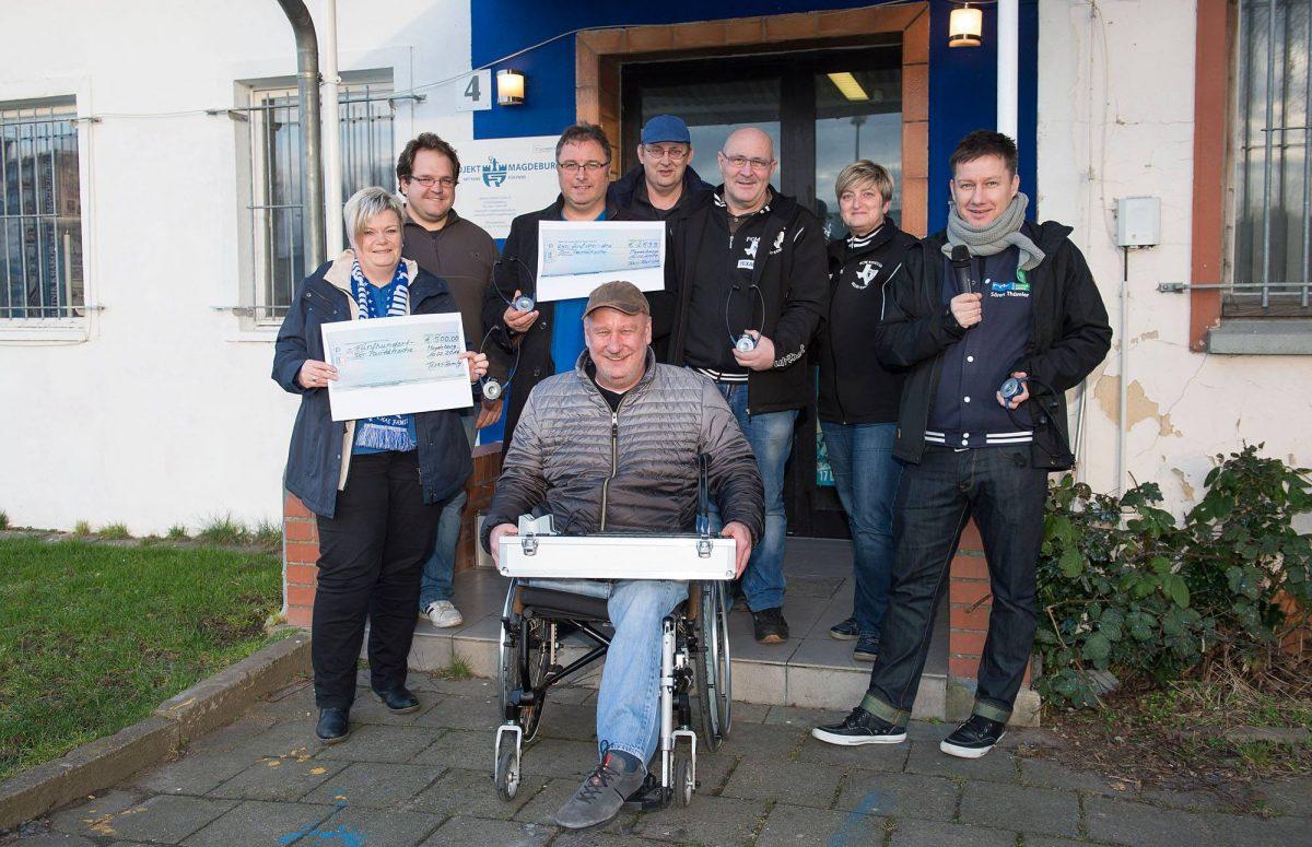 Fanprojekt unterstützt Moderation für Sehbehinderte