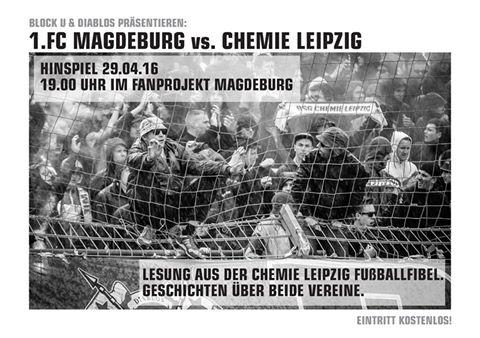 Fußballfibel: 1. FC Magdeburg vs. Chemie Leipzig