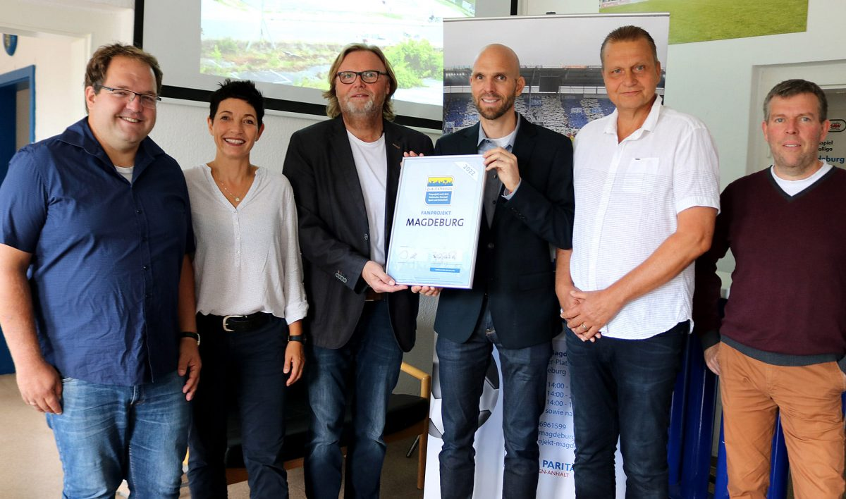 Fanprojekt Magdeburg erhält Qualitätssiegel